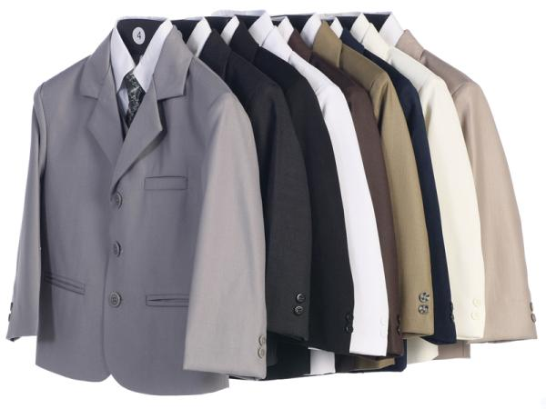 Lito suits light grey charcoal navy blue white chocolate brown olive gold black ivory taupe khaki beige